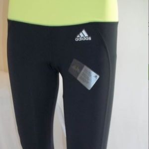 Adidas Performance Quick Dry Athletic Capri-Small